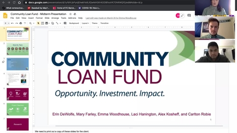 Thumbnail for entry Marketing Workshop - Community Loan Fund