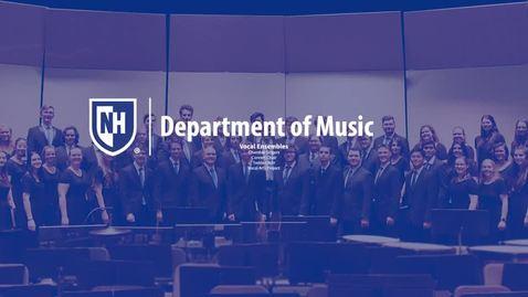 Thumbnail for entry Music Ensemble Opportunities: Vocal Ensembles