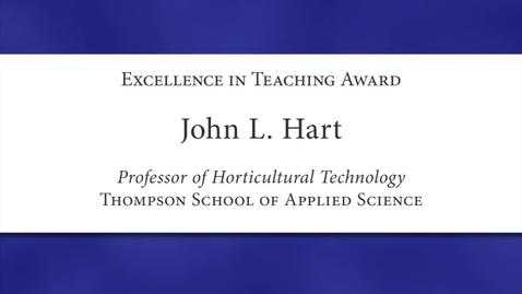 Thumbnail for entry John-L-Hart-2012.mov
