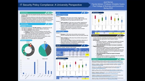 Thumbnail for entry IT Security Policy Compliance: A University Perspective