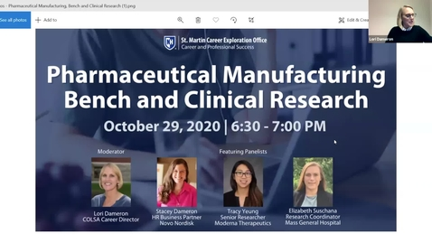 Thumbnail for entry Pharmaceutical Manufacturing, Bench and Clinical Research