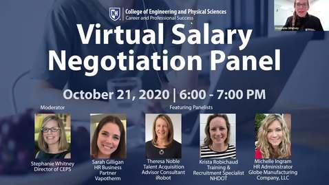 Thumbnail for entry Salary Negotiation Panel