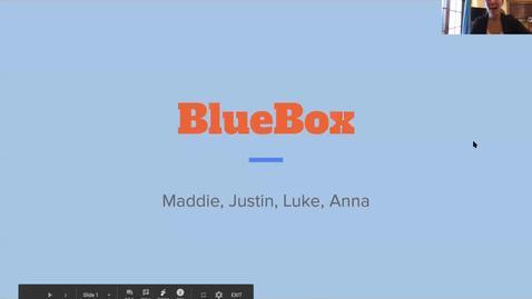 Thumbnail for entry Flame-ingos (Team 17): BlueBox