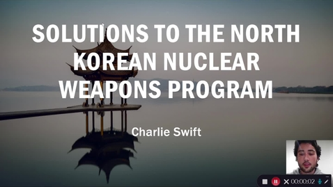 Thumbnail for entry The Threat of North Korean Nuclear Weapons Program