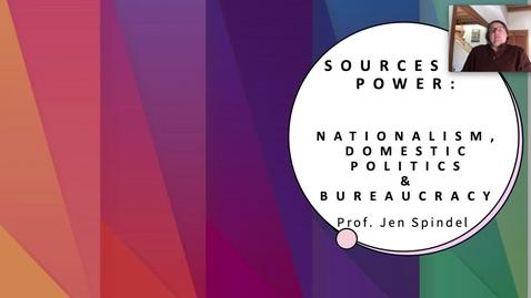 Thumbnail for entry 6 - Domestic Politics & Bureaucracy.mp4