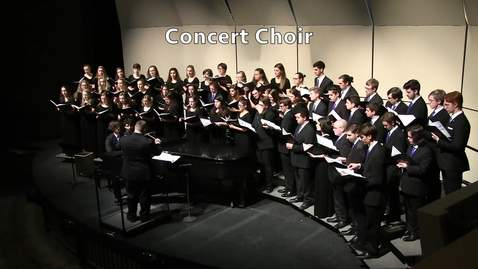 "Thumbnail for entry UNH Concert Choir, ""Cradle Hymn"" - Kim André Arnesen"