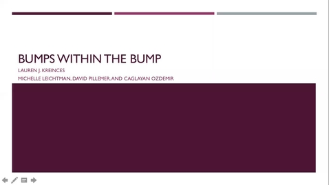 Thumbnail for entry Bumps Within the Bump