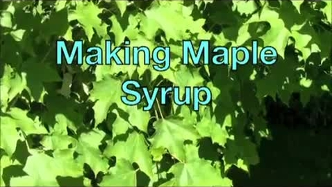 Thumbnail for entry Making Maple Syrup with Matt Chagnon_ Associate Forestry Professor_ UNH Thompson