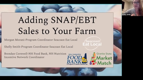 Thumbnail for entry Adding SNAP/EBT Sales to your Farm