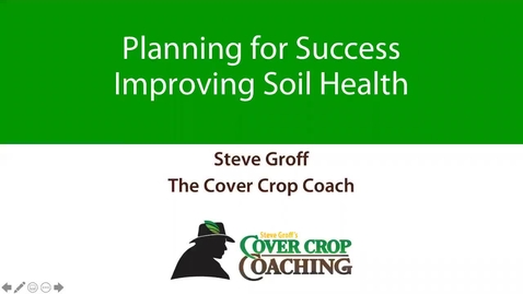 Thumbnail for entry NHVBGA - 14 Mar 2020 - Steve Groff, Soil Health