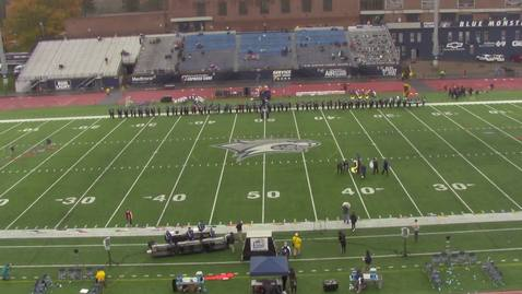 Thumbnail for entry UNH Wildcat Marching Band Halftime Show November 3, 2018