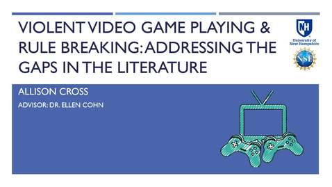 Thumbnail for entry Violent Video Game Playing & Rule-Violating Behavior: Addressing Gaps in the Literature