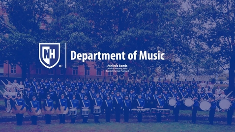 Thumbnail for entry Music Ensemble Opportunities: Athletic Bands
