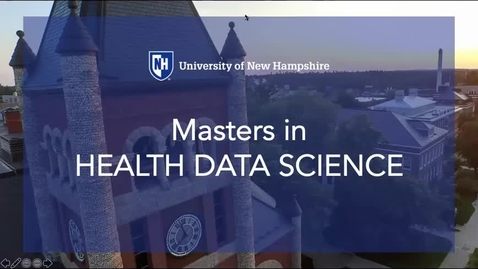 Thumbnail for entry General Information about the MS in Health Data Science program