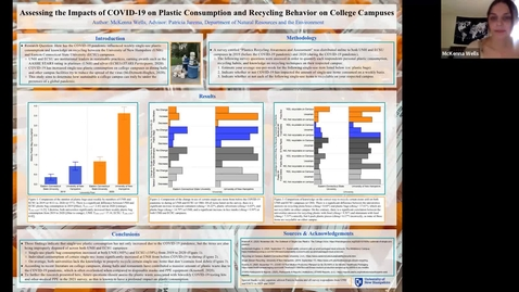 Thumbnail for entry #14 Assessing the Impacts of COVID-19 on Plastic Consumption and Recycling Behaviors on College Campuses (COLSA URC 2021)