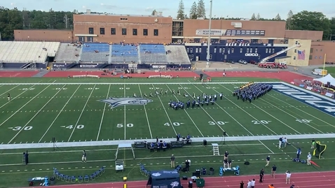 Thumbnail for entry UNH Wildcat Marching Band Pregame Show September 11, 2021