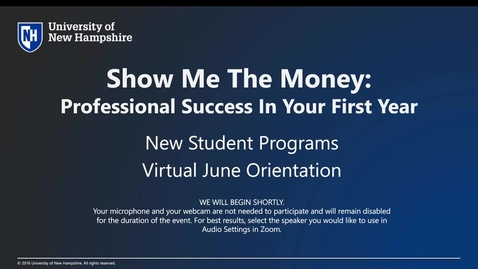 Thumbnail for entry *Career and Professional Success (CAPS) @ UNH - P/F