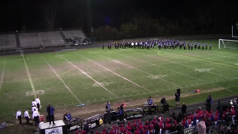 Thumbnail for entry UNH Wildcat Marching Band Dover Band Show October 19, 2019