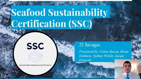 Thumbnail for entry 21 $avages (Team 21): Sustainable Seafood Certification