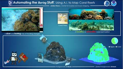 Thumbnail for entry Automating the Boring Stuff: Using A.I. to Map Coral Reefs