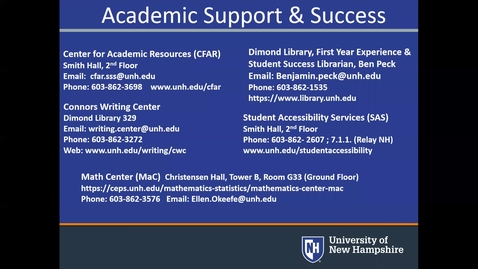 Thumbnail for entry *Academic Support Outside the Classroom - P/F