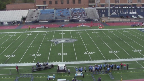 Thumbnail for entry UNH Wildcat Marching Band Pregame Show October 13, 2018