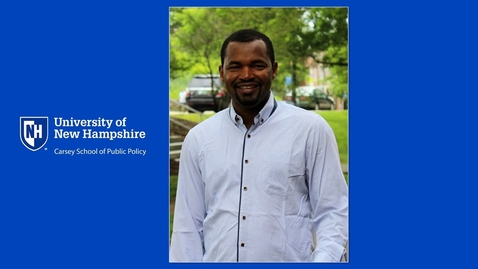 Thumbnail for entry Meet Ali Sekou, Master in Community Development Graduate