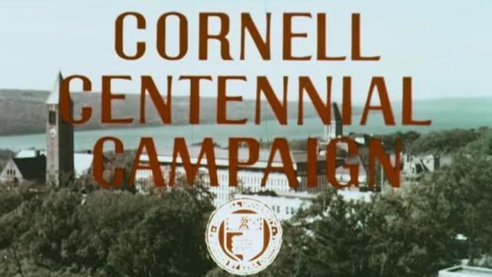 Cornell Centennial Campaign
