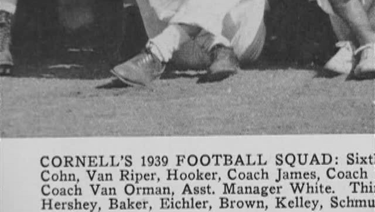 Cornell vs. Syracuse Football 1939
