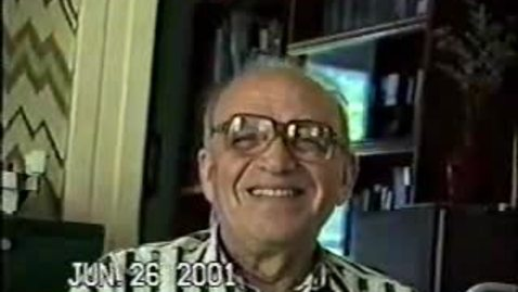 Thumbnail for entry Interview of  June 25, 2001 and June 26, 2001 with Akiva Yaglom