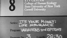 Thumbnail for entry It's Your Money: Your Life Insurance Dollar