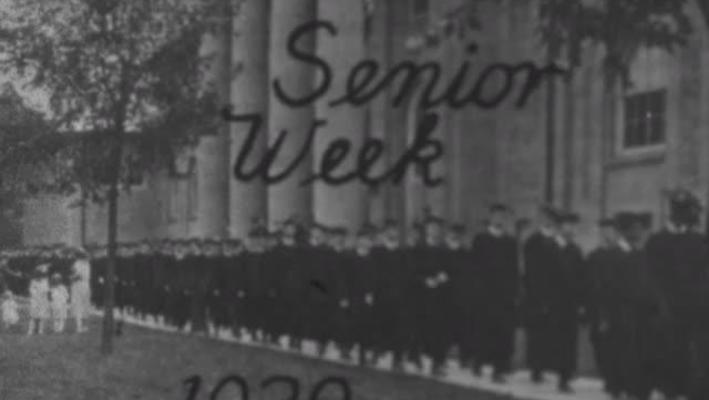 Senior Week 1929