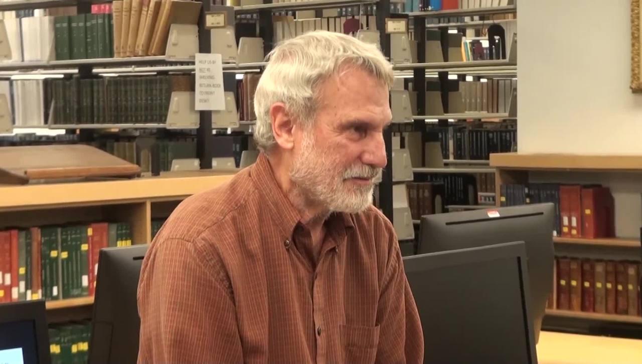 Steven Rockey's final tour of the Math Library