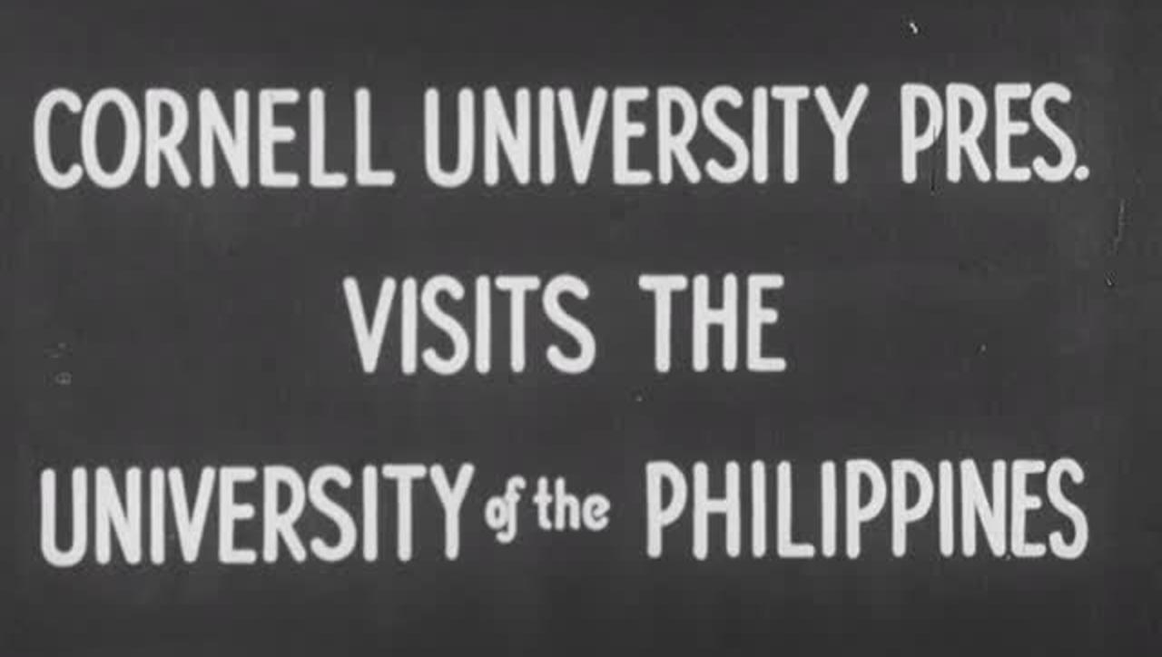 Cornell University President Visits the University of the Philippines