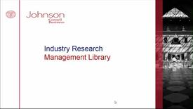 Thumbnail for entry Industry Research