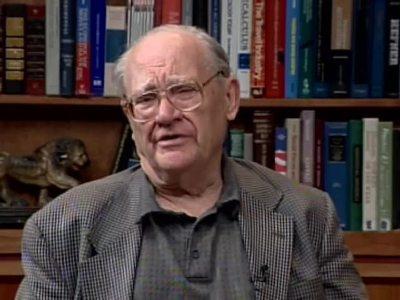 A Conversation with Harold A. Scheraga