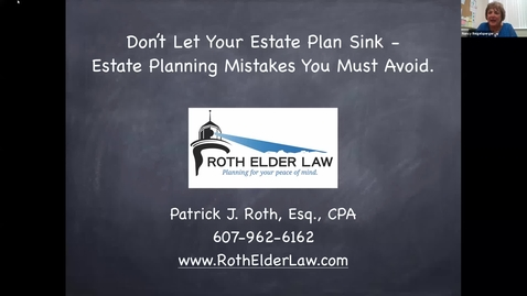 Thumbnail for entry Don't Let your Estate Plan Sink