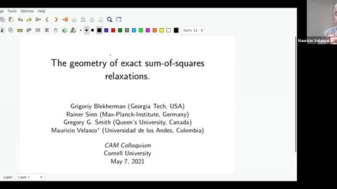 Thumbnail for entry CAM Colloquium - Mauricio Velasco (5/7/21)
