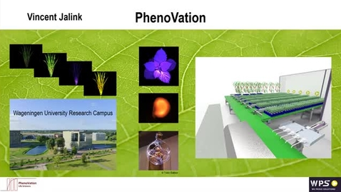 Thumbnail for entry CIDA seminar in conjunction with BTI - Vincent Jalink from PhenoVation