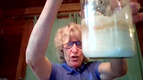 Thumbnail for entry Sourdough - Mary Lou teaches us all about it