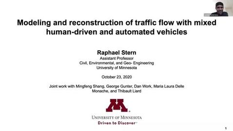 Thumbnail for entry CAM Colloquium - Raphael Stern (10/23/20)