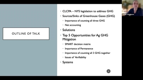 Thumbnail for entry Greenhouse Gas Mitigation Opporunities on Working Lands - Jenifer Wightman