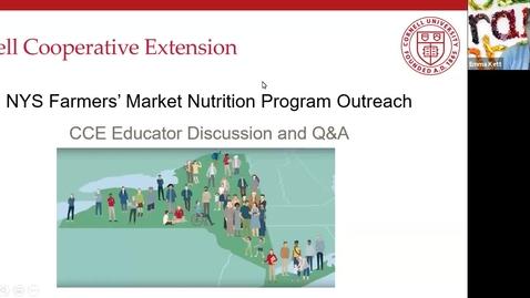 Thumbnail for entry FMNP Educator Q&A