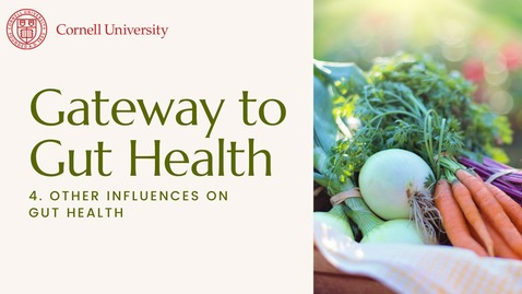 Thumbnail for entry Gateway to Gut Health #4: Other influences on gut health