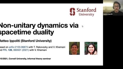 Thumbnail for entry Informal Theory Seminar