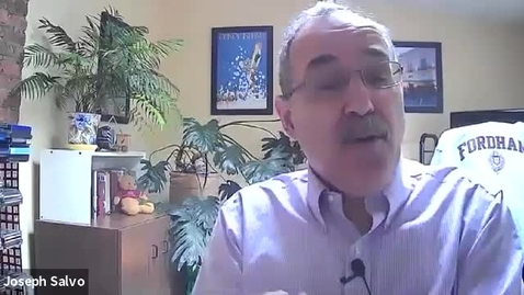 Thumbnail for entry Graduate Training Prosem with Joe Salvo