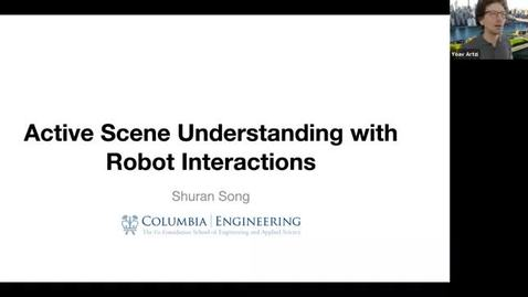 Thumbnail for entry 3.8.21 AI Seminar - Spring 21 Shuran Song