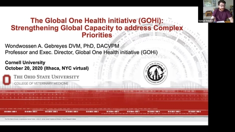 Thumbnail for entry Wondwossen Gebreyes, DVM, PhD, DACVPM - The Global One Health initiative (GOHi)