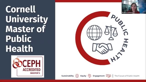 Thumbnail for entry Cornell MPH Virtual Fair April 7