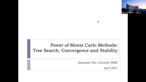 Thumbnail for entry ORIE Colloquium: Qiaomin Xie (Cornell University), April 7, 2021